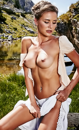 Julia Prokopy in Playboy Germany Vol. 2